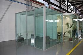 Box vetrati autoportanti mdesign srl roma for Design ufficio srl roma